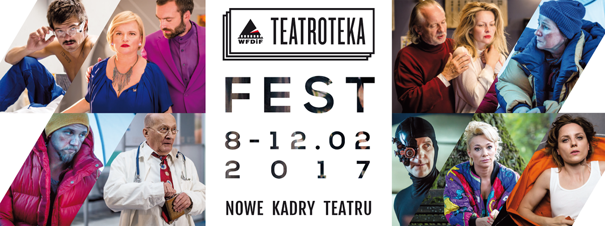 Teatroteka Fest. Nowe Kadry Teatru (źródło: materiały prasowe organizatora)