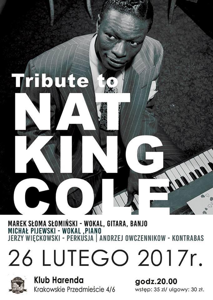 """""""Tribute to Nat King Cole"""" (źródło: materiały prasowe organizatora)"""