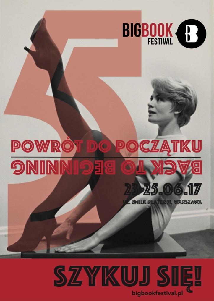 """5. Big Book Festival: """"Powrót do początku"""" (źródło: materiały prasowe organizatora)"""
