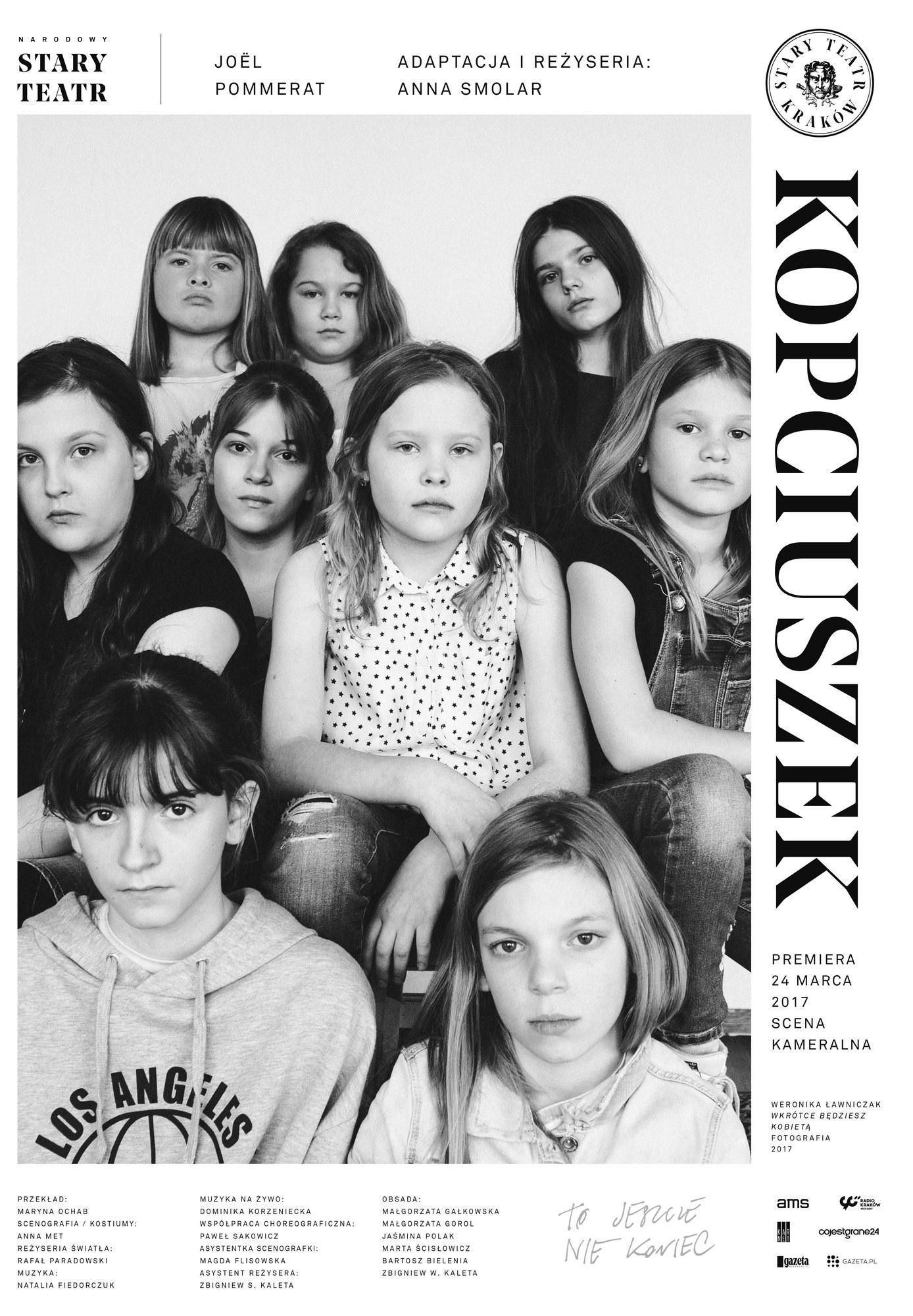 """""""Kopciuszek"""", reż. Anna Smolar, plakat (źródło: materiały prasowe)"""