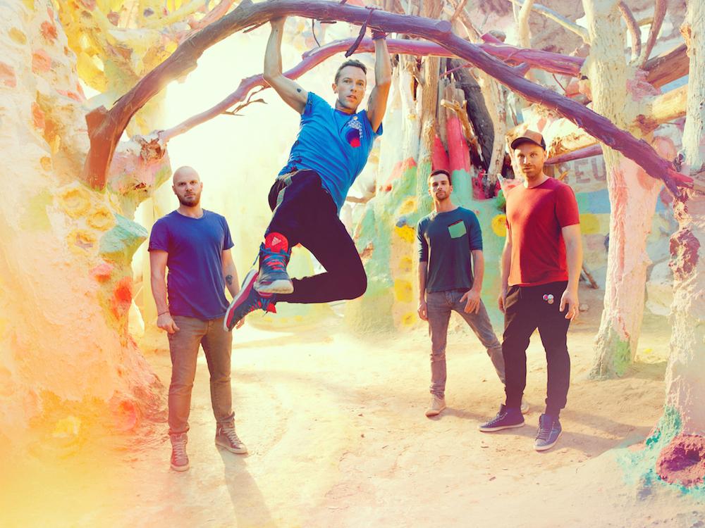 Coldplay (źródło: materiały prasowe organizatora)