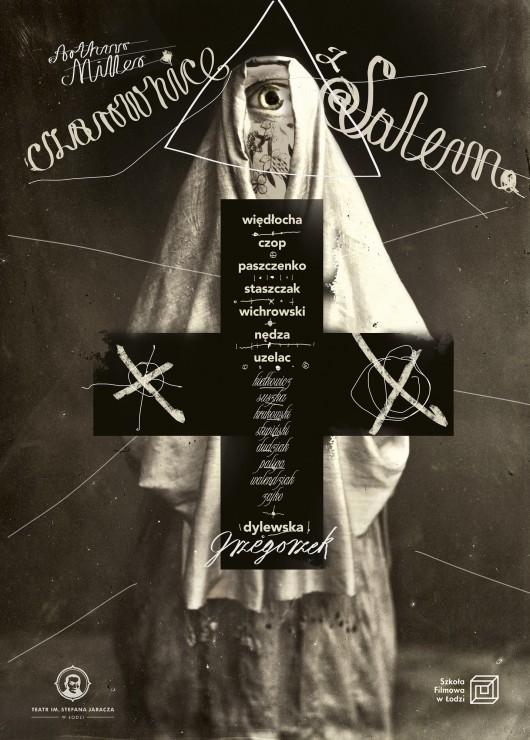 """""""Czarownice z Salem"""", reż. Mariusz Grzegorzek – plakat (źródło: materiały prasowe)"""