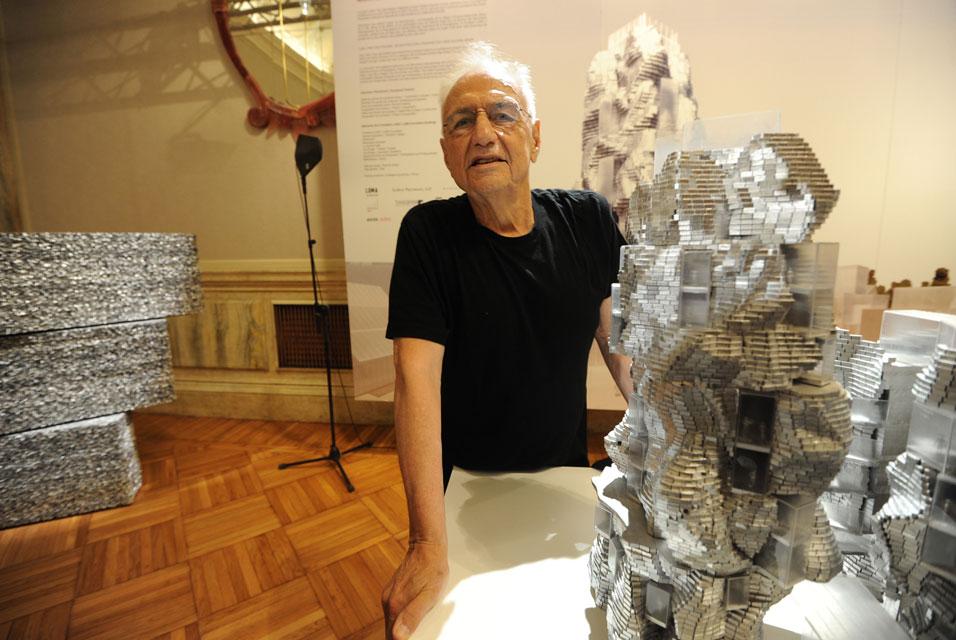 Frank O. Gehry, fot. Forgemind Archimedia, na licencji CC BY 2.0 (źródło: Flickr)