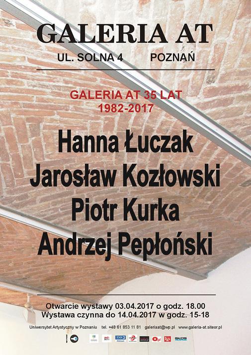 35 lat Galerii AT w Poznaniu (źródło: materiały prasowe organizatora)