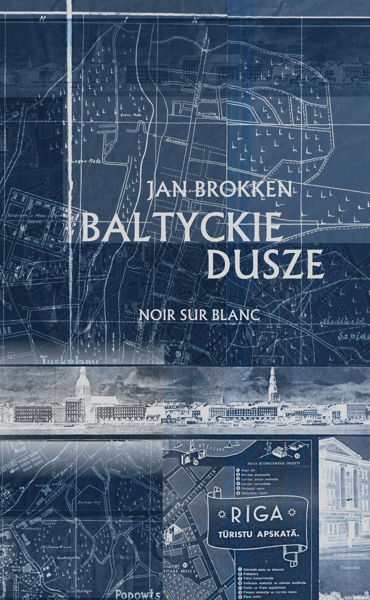 """Jan Brokken, """"Bałtyckie dusze"""" – okładka (źródło: materiały prasowe wydawcy)"""