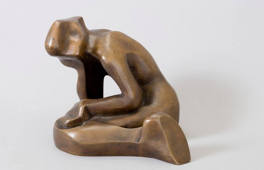"""Katarzyna Kobro, """"Akt kobiecy"""", 1948, Depozyt Niki Strzemińskiej od 1991 r., pozyskany do MNK w 2006 (źródło: materiały prasowe organizatora)"""