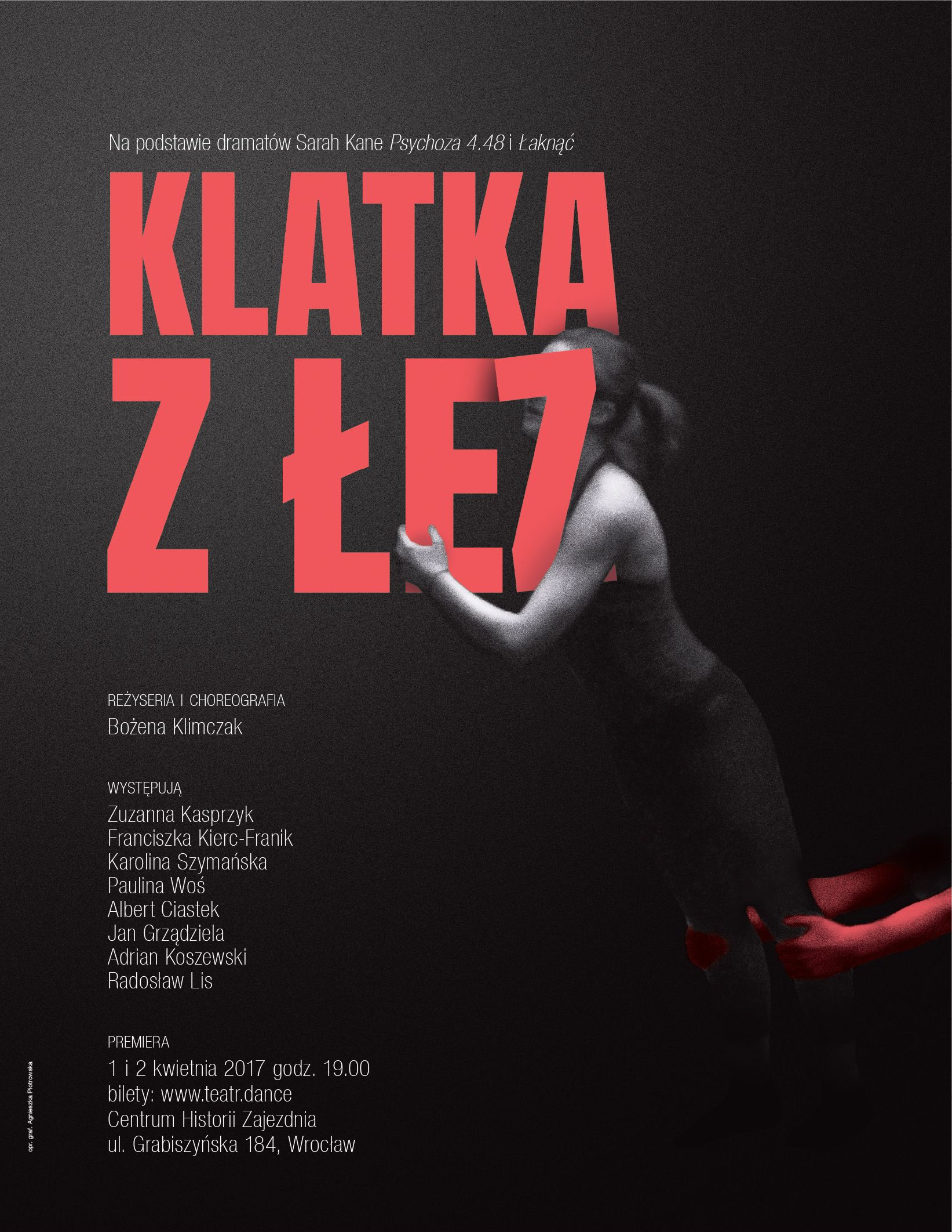 """""""Klatka z łez"""", reż. Bożena Klimczak (źródło: materiały prasowe)"""