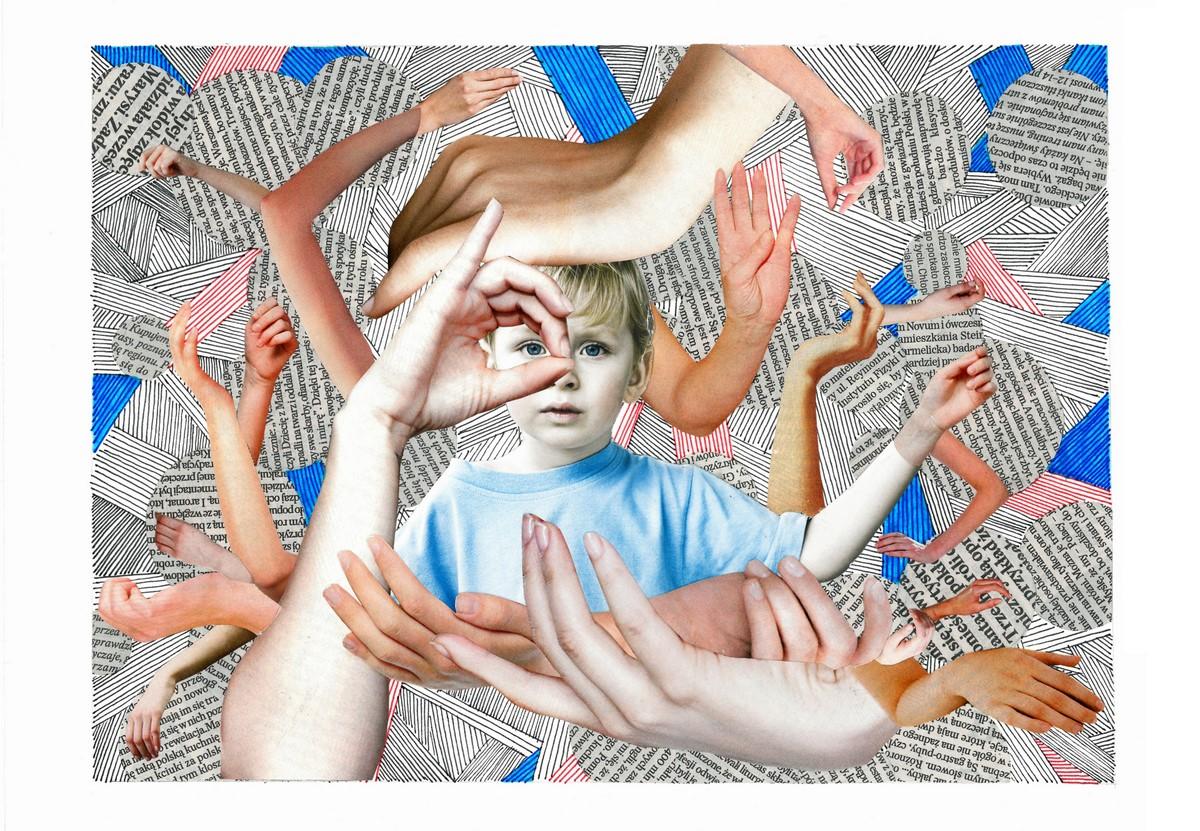"""Maria Gumulak, """"Boy with Friends"""" (źródło: materiały prasowe organizatora)"""