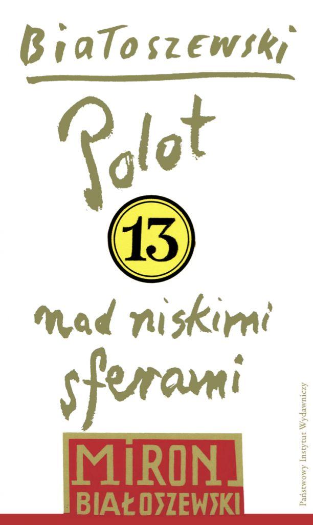 """Miron Białoszewski, """"Polot nad niskimi sferami"""" – okładka (źródło: materiały prasowe)"""