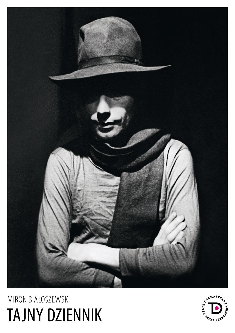 """""""Tajny dziennik"""", reż. Wojciech Urbański – plakat (źródło: materiały prasowe teatru)"""