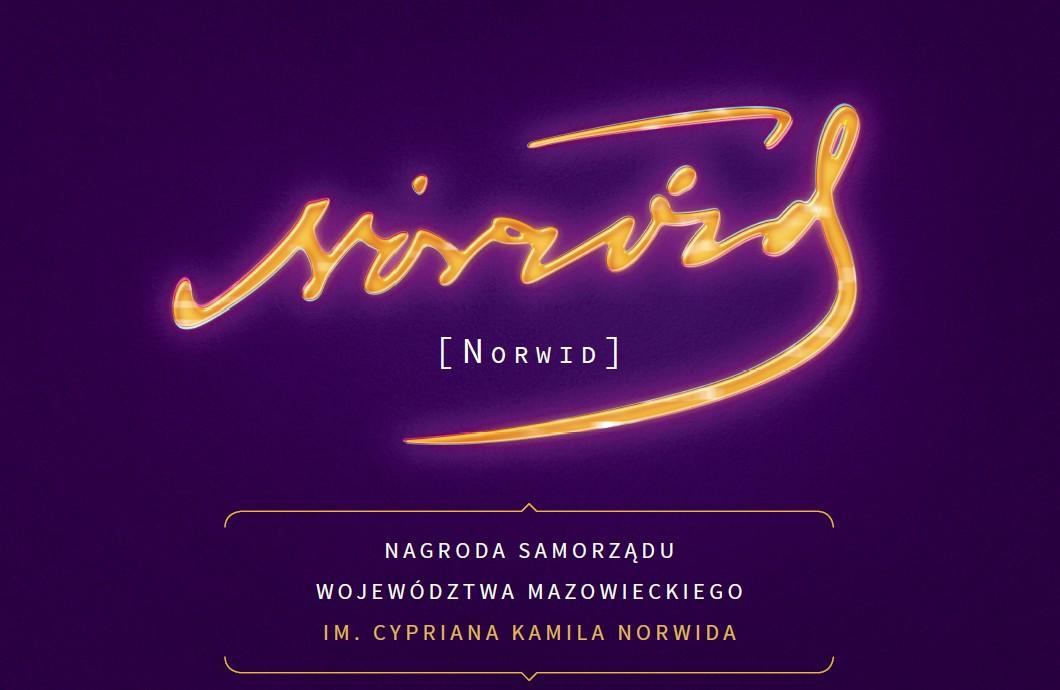 Nagroda im. Cypriana Kamila Norwida – logotyp (źródło: materiały prasowe organizatora)