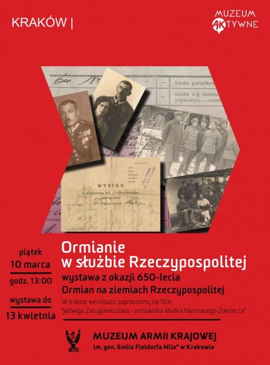 """""""Ormianie w służbie Rzeczypospolitej"""" (źródło: materiały prasowe organizatora)"""