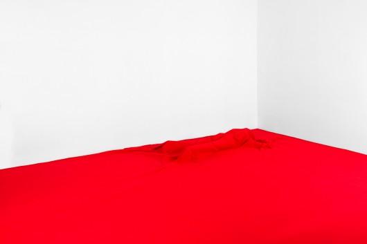 """Oskar Dawicki, """"To nie jest flaga"""", 2014, fotografia ,dzięki uprzejmości galerii Raster, Warszawa (źródło: materiały prasowe organizatora)"""