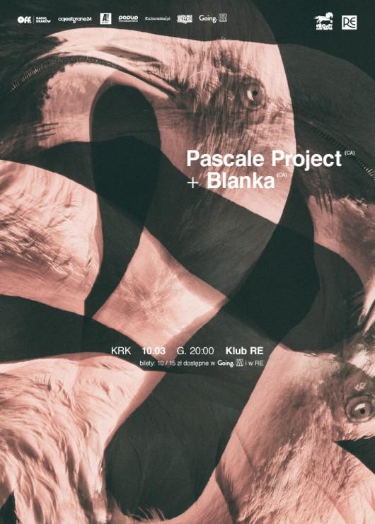 Pascale Project i Blanka – plakat (źródło: materiały prasowe organizatora)