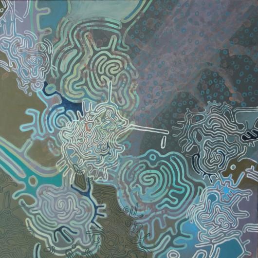 """Pola Wójcik, """"Labirynt szary"""", 2012 (źródło: materiały prasowe organizatora)"""