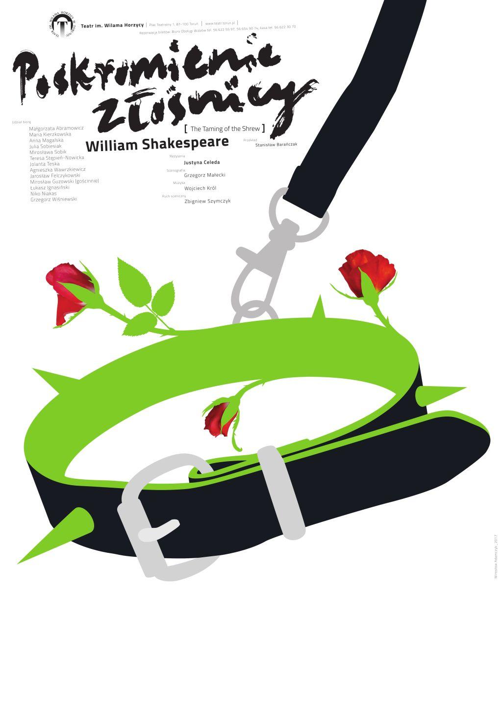 """William Shakespeare, """"Poskromienie złośnicy"""", reż. Justyna Celeda (źródło: materiały prasowe teatru)"""