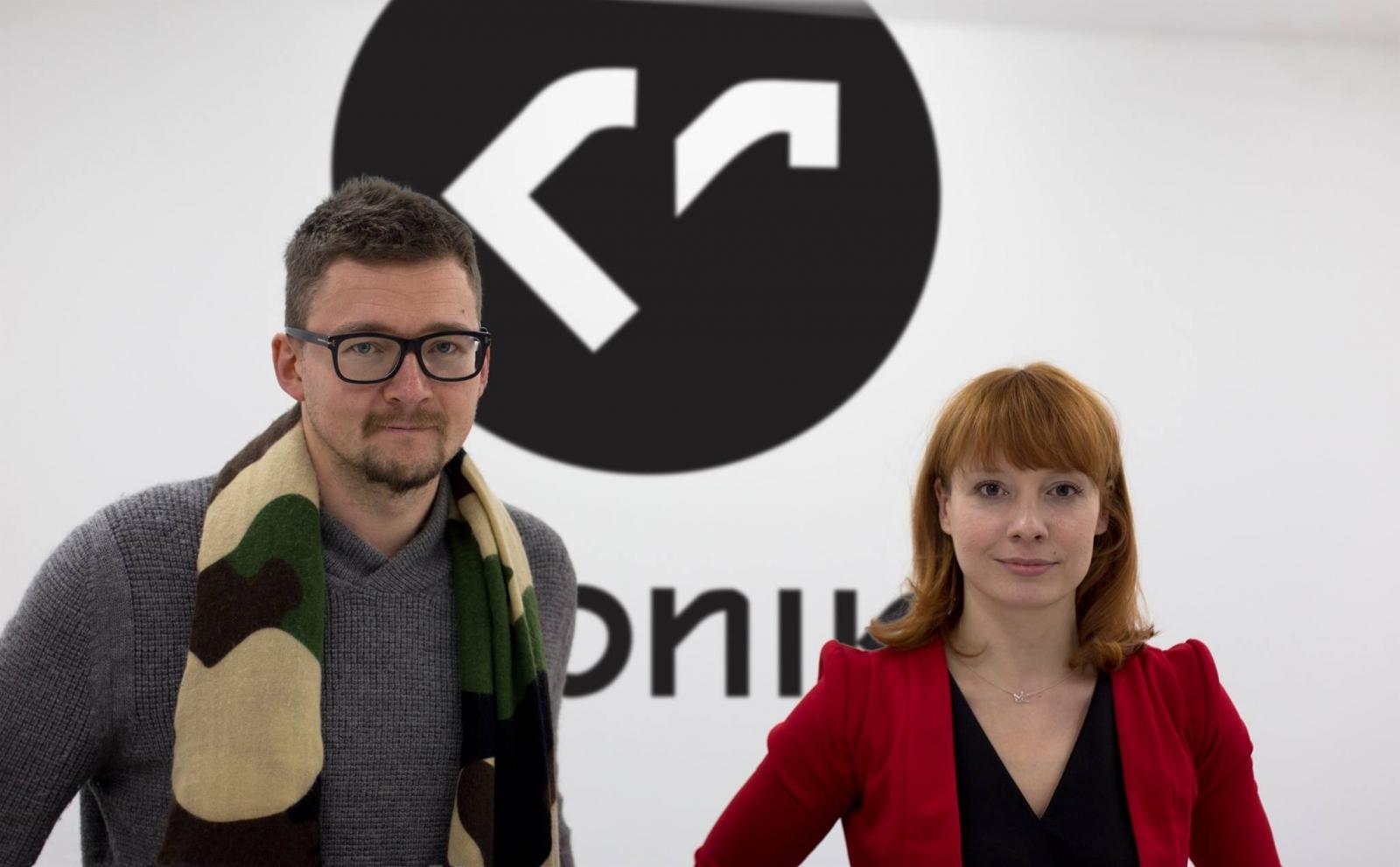 Stanisław Ruksza i Agata Cukierska (źródło: materiały prasowe organizatora)
