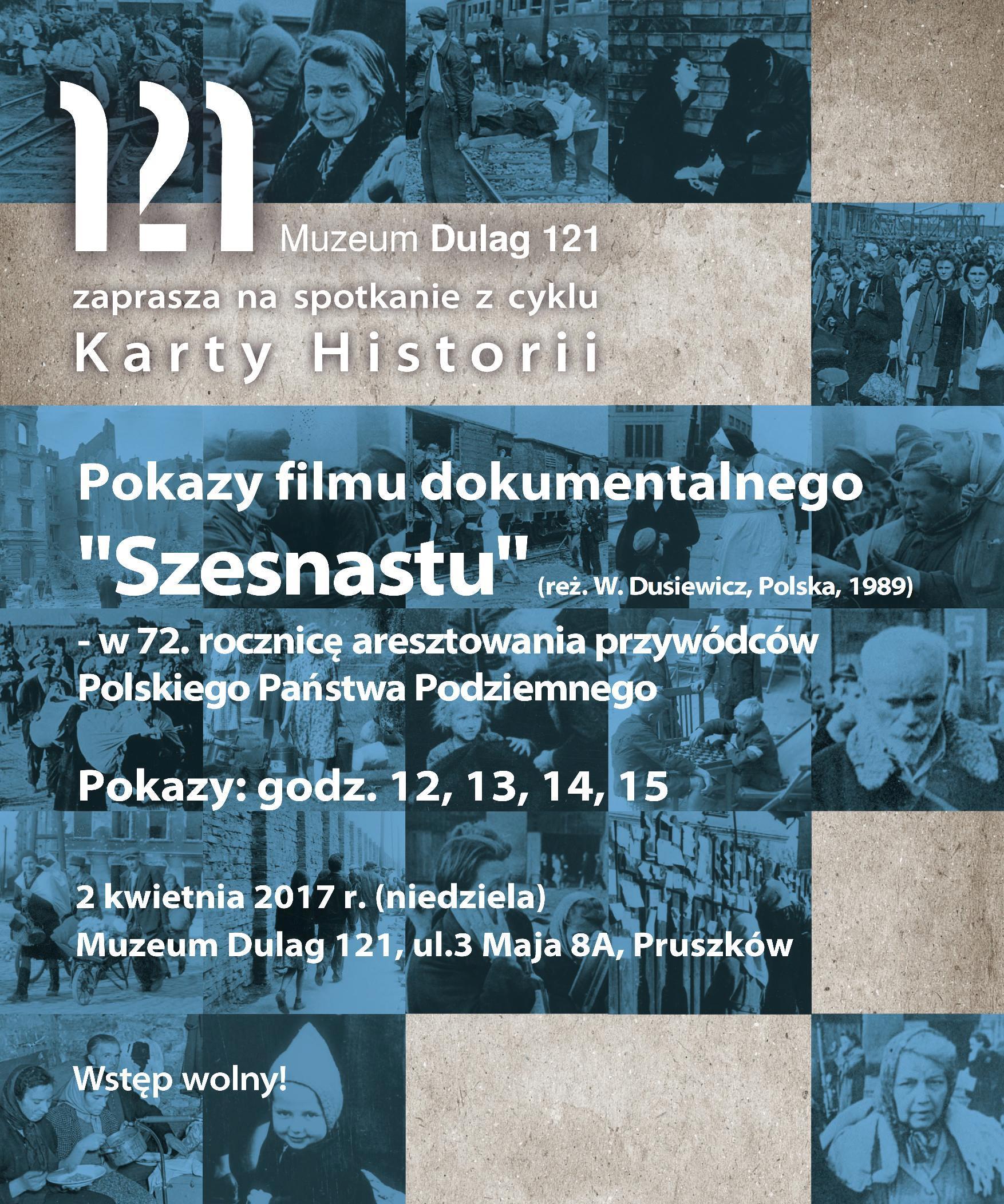 """""""Szesnastu"""", reż. Włodzimierz Zbigniew Dusiewicz (źródło: materiały prasowe organizatora)"""