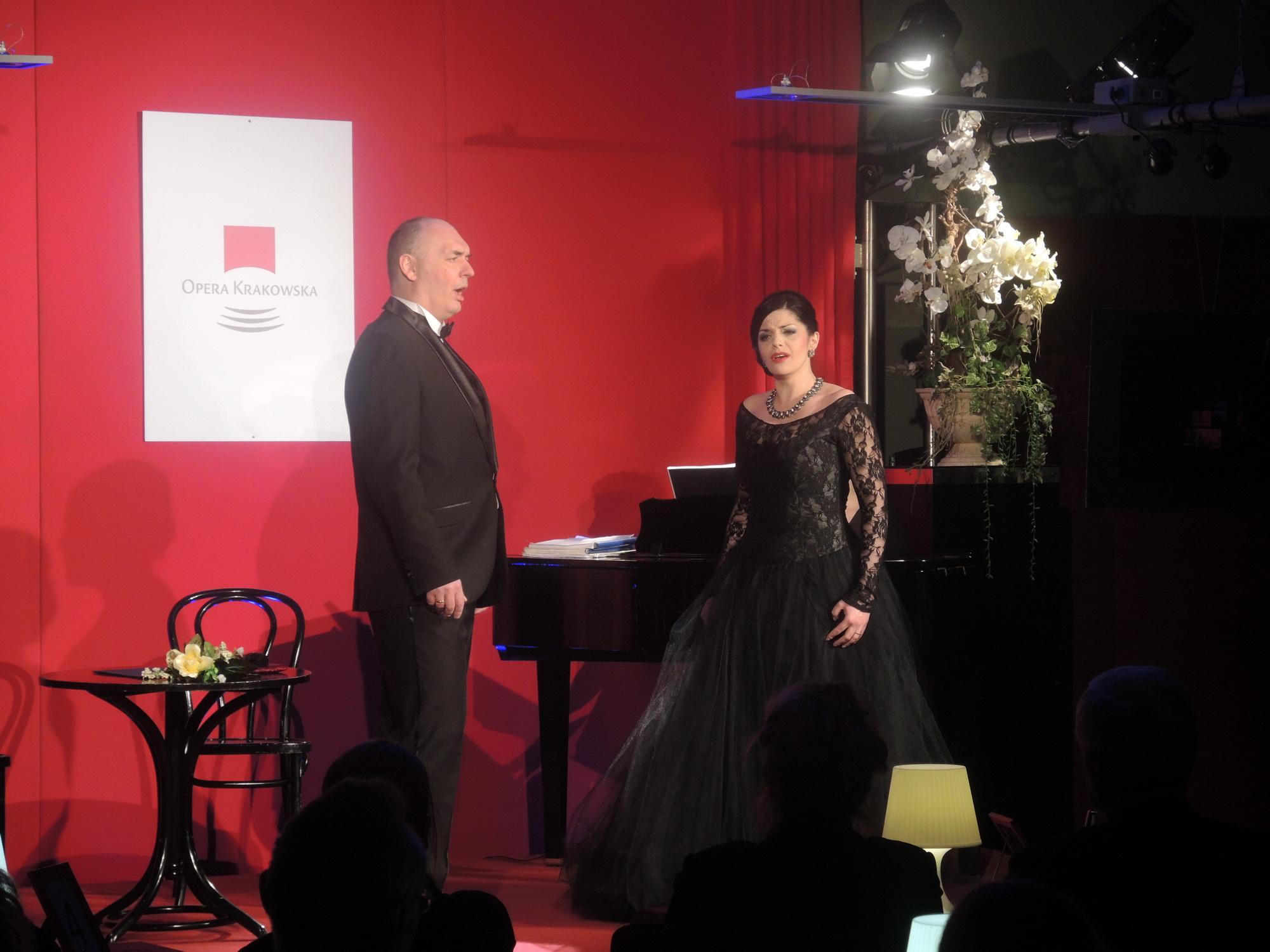 Koncert Viva Opera!, na zdjęciu Iwona Socha i Tomasz Kuk, fot. Archiwum Opery Krakowskiej (źródło: materiały prasowe organizatora)