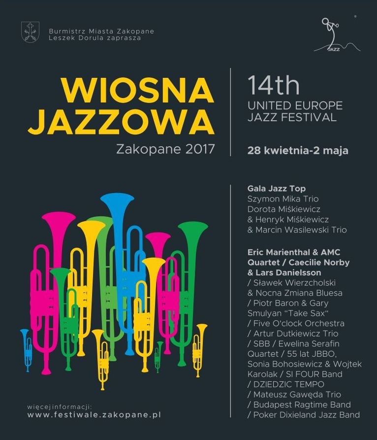 14. Wiosna Jazzowa Zakopane (źródło: materiały prasowe organizatora)