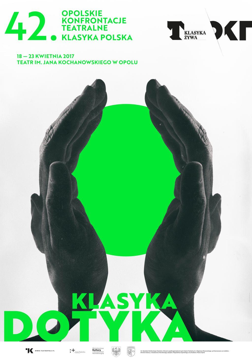 """42. Opolskie Konfrontacje Teatralne """"Klasyka Polska"""" (źródło: materiały prasowe organizatora)"""