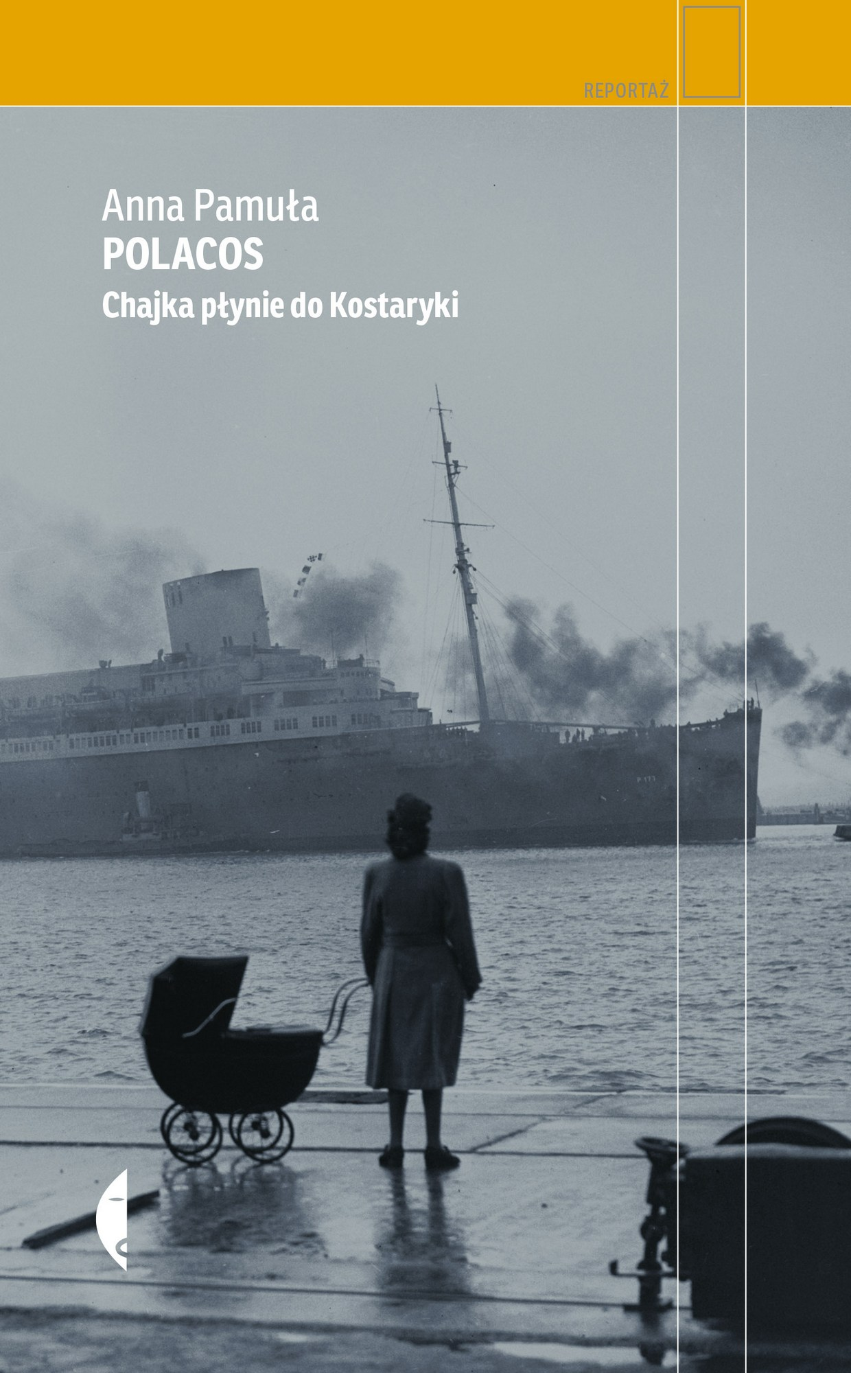 """Anna Pamuła,""""Polacos"""" – okładka (źródło: materiały prasowe wydawcy)"""