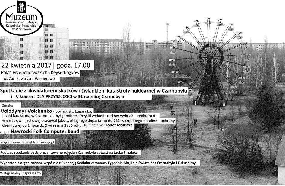 Spotkanie z likwidatorem skutków i świadkiem katastrofy nuklearnej w Czarnobylu (źródło: materiały prasowe organizatora)