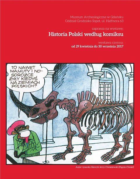 """""""Historia Polski według komiksu"""" (źródło: mtaeriały prasowe organizatora)"""