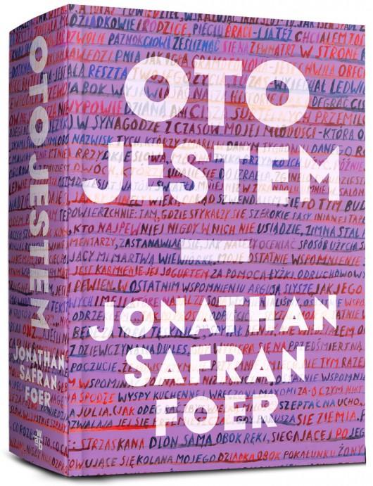 """Jonathan Safran Foer,""""Oto jestem """" – okładka (źródło: materiały prasowe wydawcy)"""