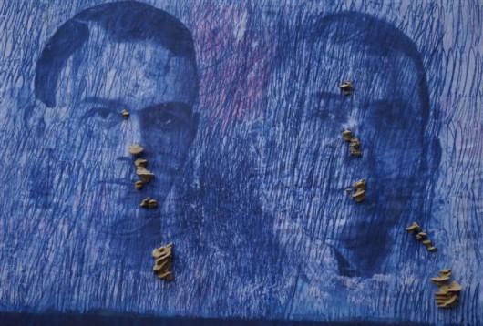 """Marek Marchwicki, """"Ciężki deszcz"""", 2017 (źródło: materiały prasowe organizatora)"""