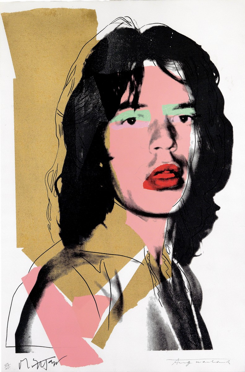 "Andy Warhol, ""Mick Jagger"" (źródło: materiały prasowe organizatora)"