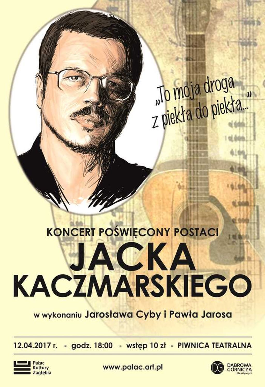 """""""Moja Droga z Piekła do Piekła"""", wyk. Jarosław Cyba, Paweł Jaros (źródło: materiały prasowe organizatora)"""