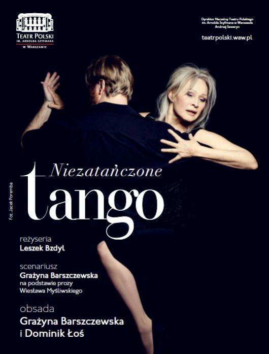 """""""Niezatańczone tango"""", reż. Leszek Bzdyl (źródło: materiały prasowe teatru)"""