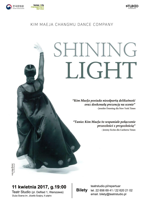 """Kim MaeJa ChangMu Dance Company, """"Shining Light"""" (źródło: materiały prasowe)"""