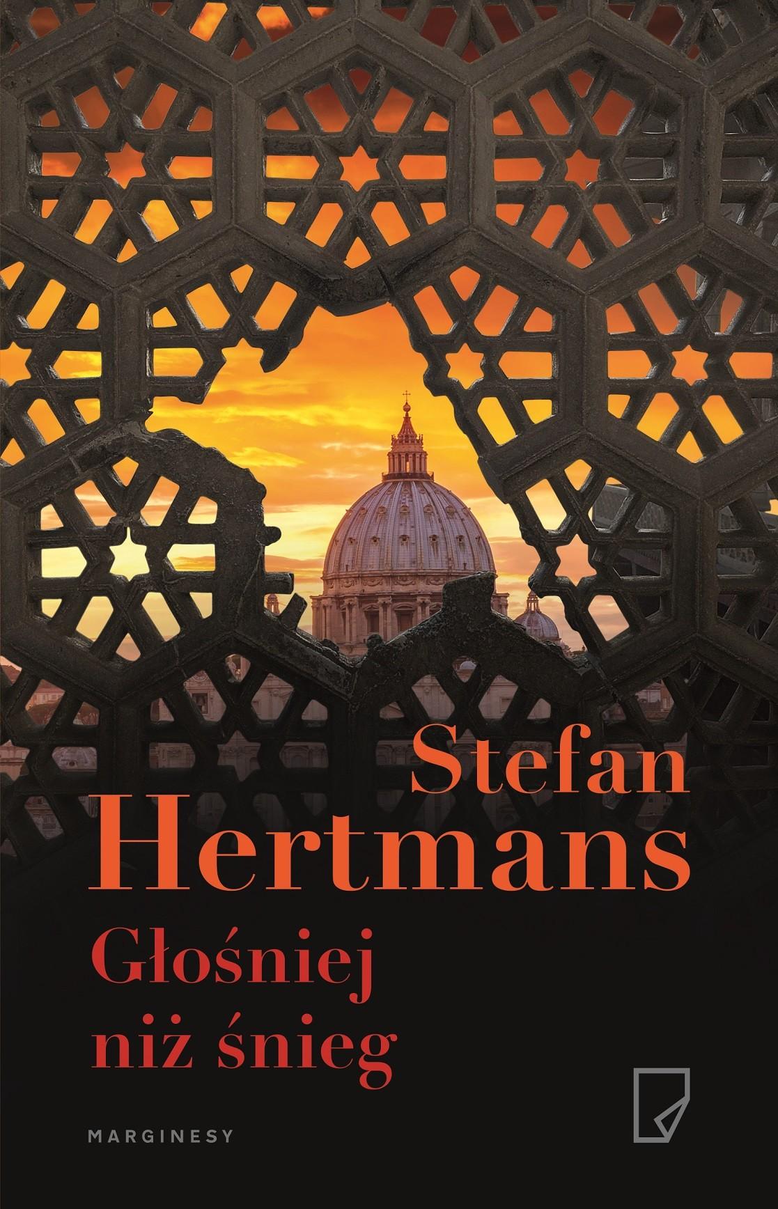 """Stefan Hertmans, """"Głośniej niż śnieg"""" – okładka (źródło: materiały wydawcy)"""