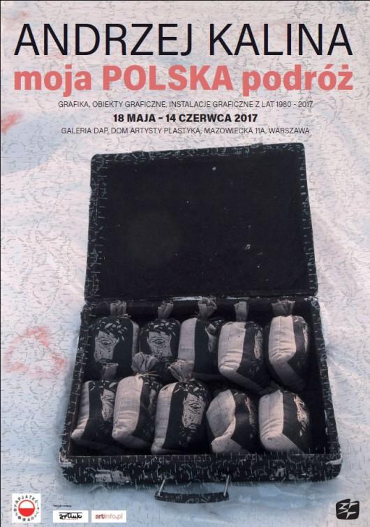 """Andrzej Kalina, """"moja POLSKA podróż"""" (źródło: materiały prasowe organizatora)"""