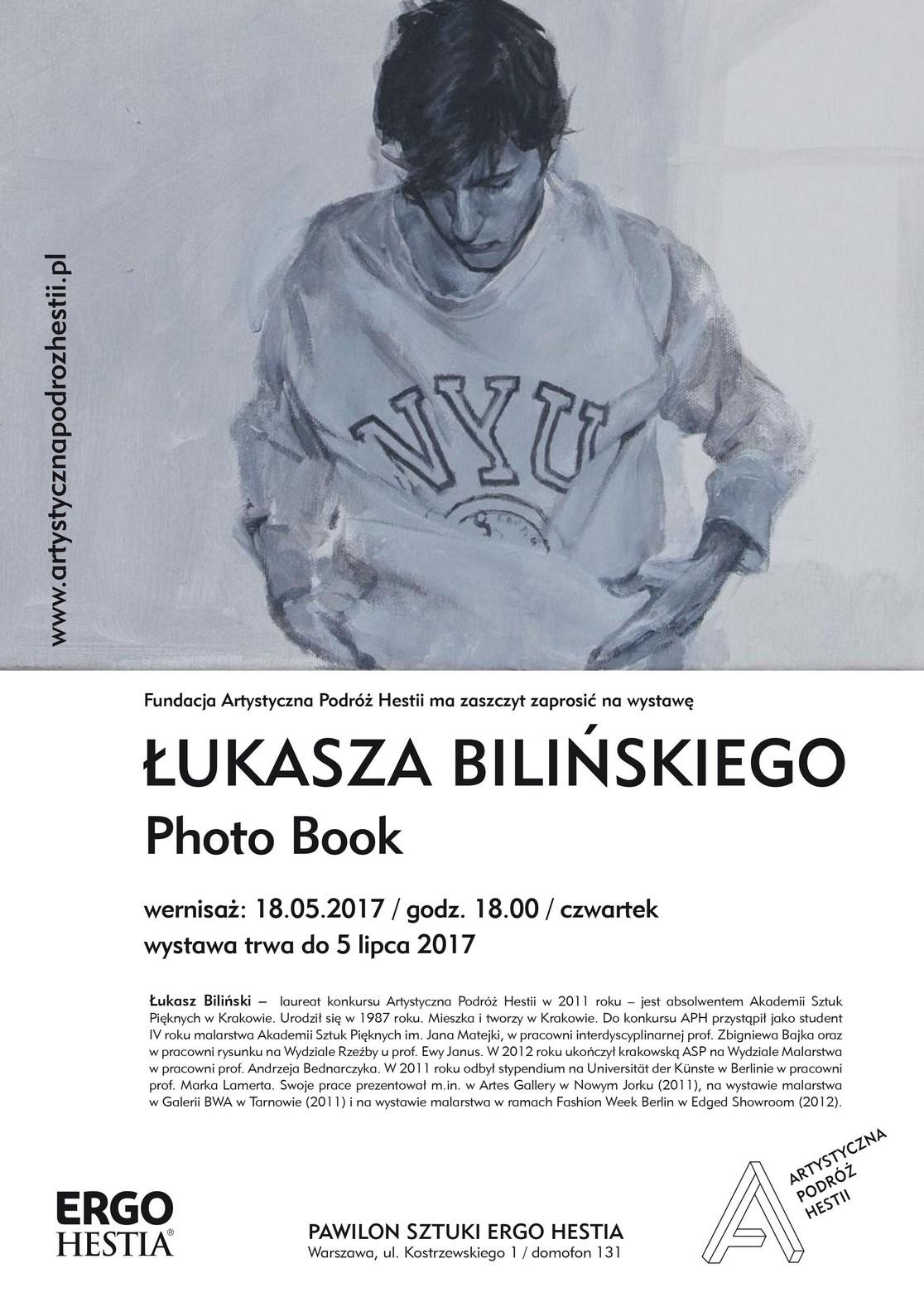 """Łukasz Biliński, """"PHOTO BOOK"""" (źródło: materiały prasowe organizatora)"""