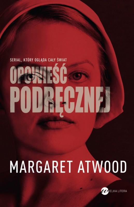 """Margaret Atwood,""""Opowieść podręcznej"""" – okładka (źródło: materiały prasowe wydawcy)"""