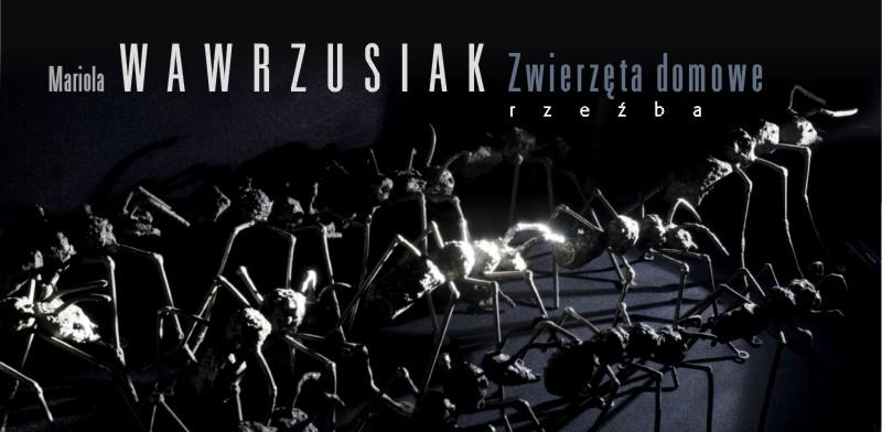 """Mariola Wawrzusiak, """"Zwierzęta domowe"""" (źródło: materiały prasowe organizatora)"""