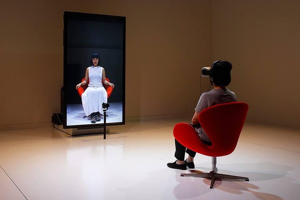 "Naotaka Fujii + GRINDER-MAN + evala, ""The Mirror"" (źródło: materiały prasowe organizatora)"