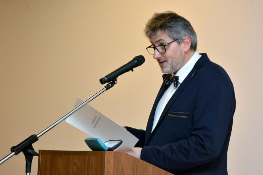 Prezes SMP Michał Niezabitowski, fot. Grażyna Kułakowska/Muzeum Warszawy (źródło: materiały prasowe organizatora)