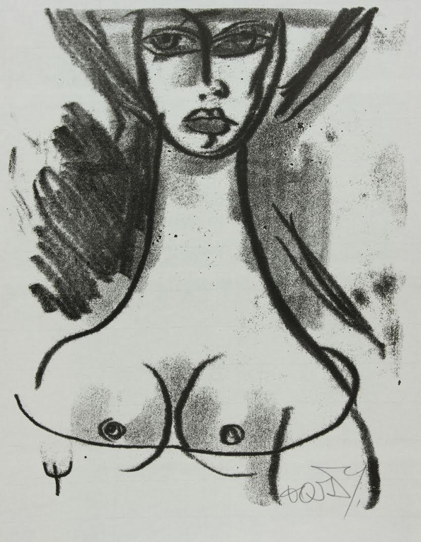 """Stanisław Dawski, """"Portret kobiety"""" (źródło: materiały prasowe organizatora)"""
