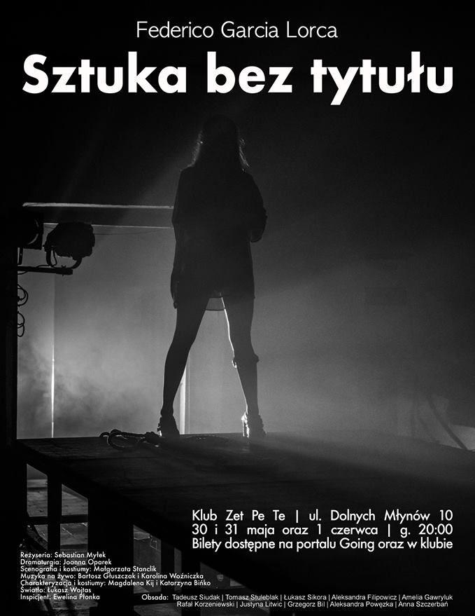 """Federico Garcia Lorca, """"Sztuka bez tytułu"""", reż. Sebastian Myłek (źródło: materiały prasowe)"""