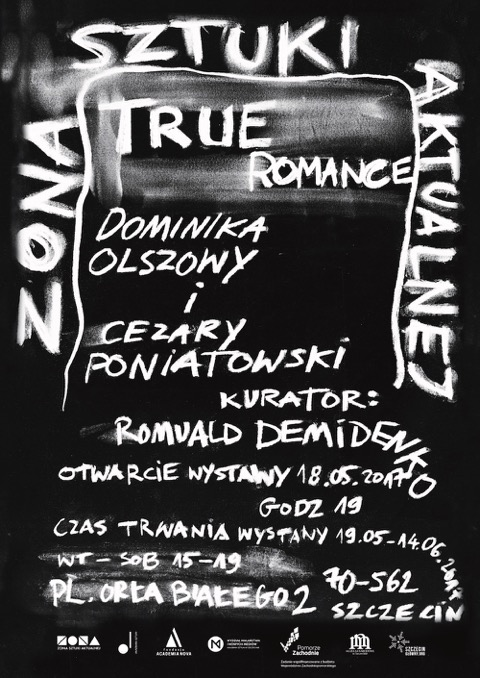 """Dominika Olszowy, Cezary Poniatowski, """"True romance"""" (źródło: materiały prasowe organizatora)"""
