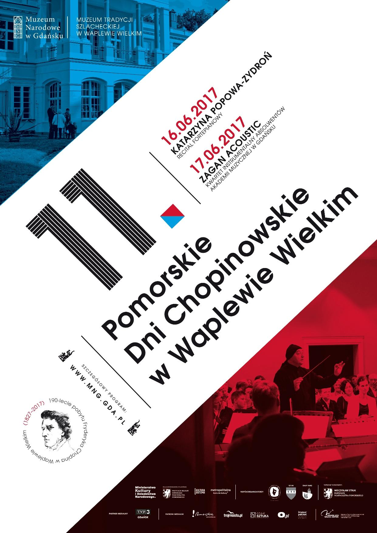 11. Pomorskie Dni Chopinowskie w Waplewie Wielkim (źródło: materiały prasowe organizatora)