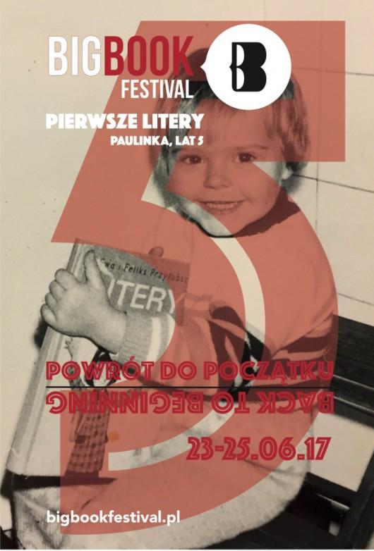 5. Big Book Festival – plakat (źródło: materiały prasowe organizatora)