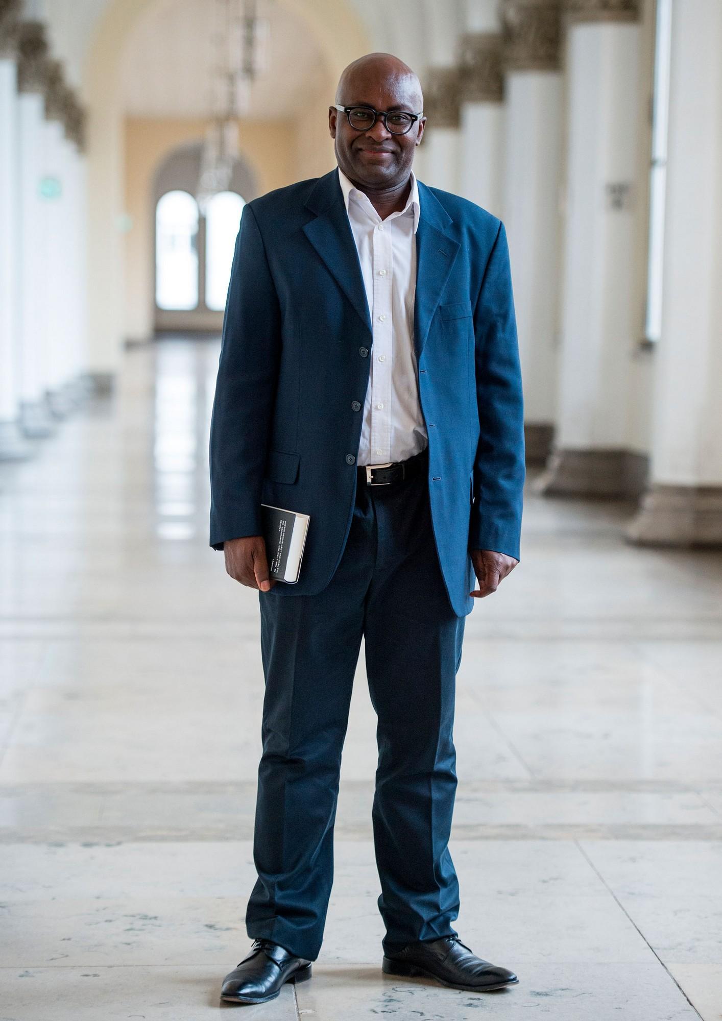 Achille Mbembe, fot. Matthias Balk (źródło: materiały prasowe organizatora)