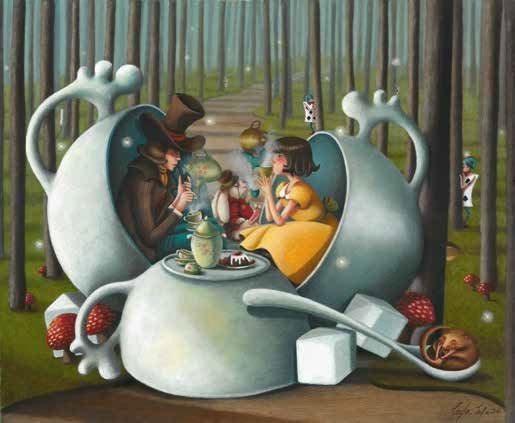 """Leyla Safa, """"It's always Tea-Time"""" (źródło: materiały prasowe organizatora)"""