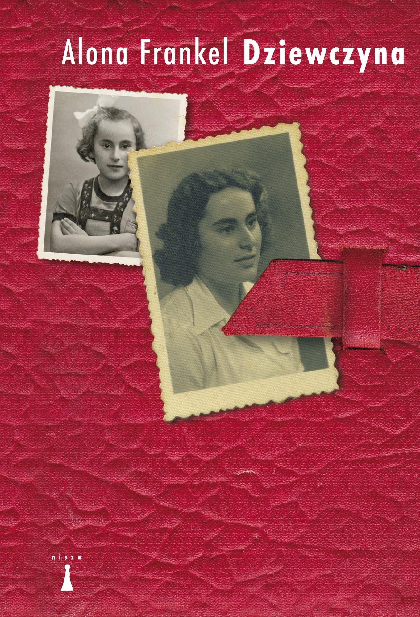 """Alona Frankel,""""Dziewczyna"""" – okładka (źródło: materiały prasowe wydawcy)"""