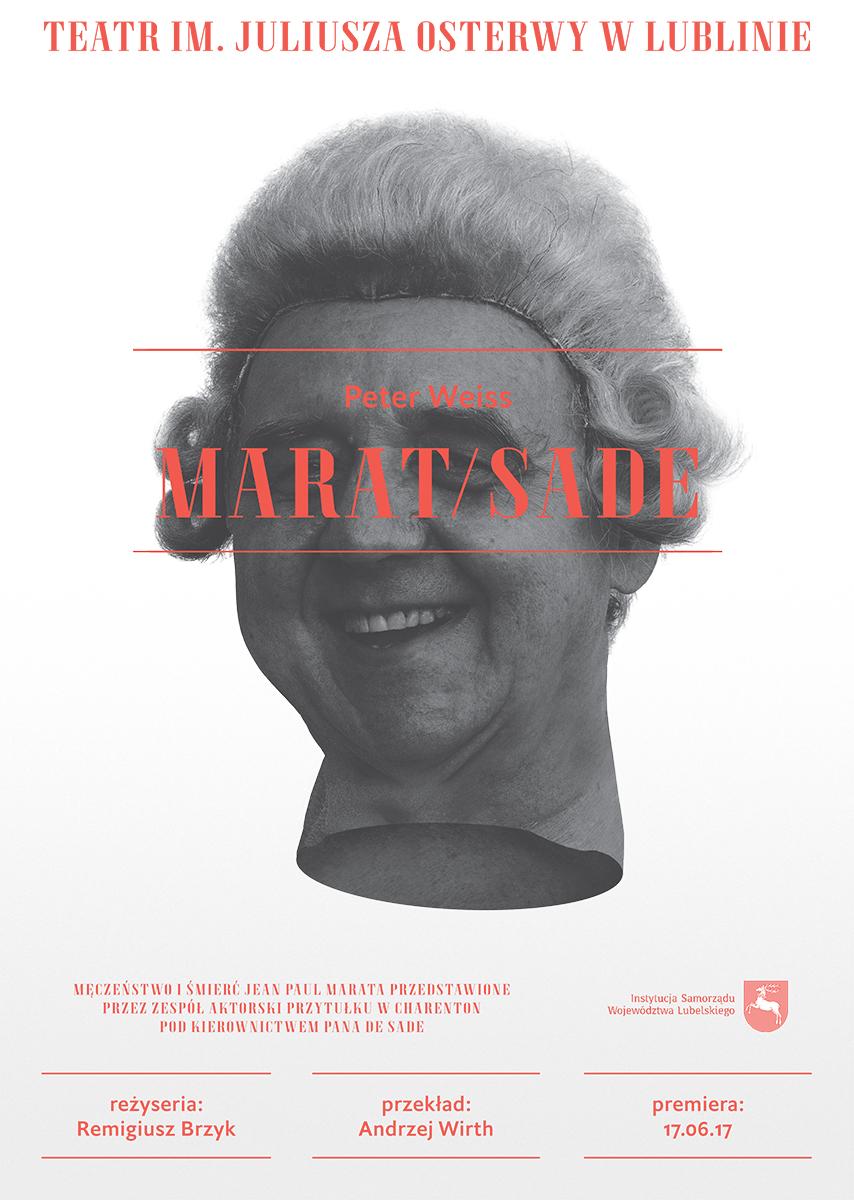 """Peter Weiss, """"Marat/Sade"""" (źródło: materiały prasowe teatru)"""